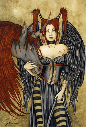 Amy Brown Dark Horse Print -- Limited Edition