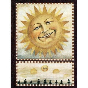 David Carter Brown Sun Magnet
