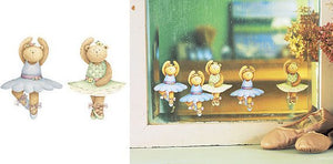 Wallies Debbie Mumm Ballerina Bears Wallpaper Cutouts