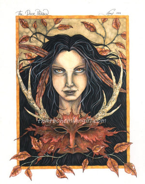 Amy Brown Deer Maiden Print
