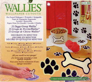 Wallies Doggy Group Dog Bones Wallpaper Cutouts
