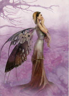 Linda Bergkvist Do Not Whisper into The Wind Fairy Greeting Card