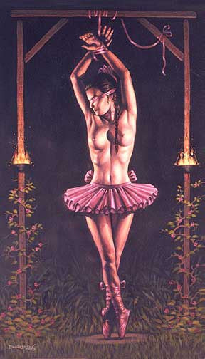 Dorian Cleavenger The Dancer Print