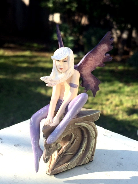 Amy Brown Mini Fairy Dragon Dream Figurine |  Amy Brown Signature Series Retired