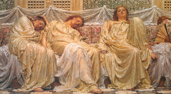 Albert Moore Dreamers Art Card