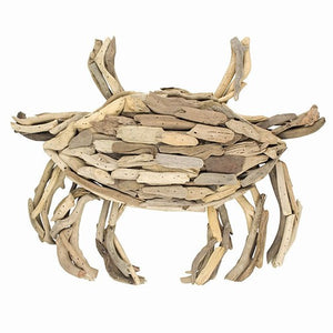 Driftwood Crab -- Large Wall Decor
