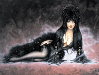 Elvira Note Card by Olivia De Berardinis