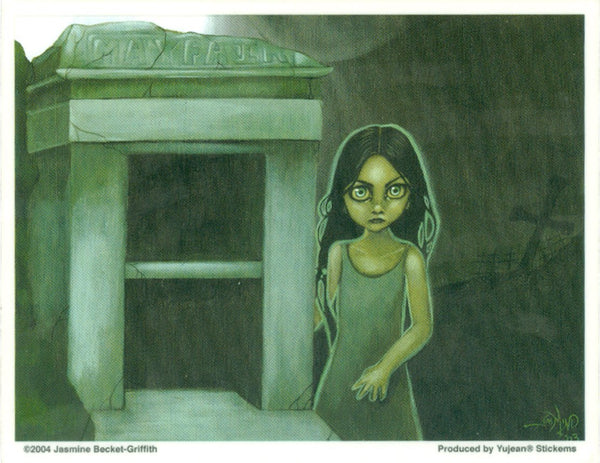 Jasmine Becket Griffith Empty Tomb Sticker