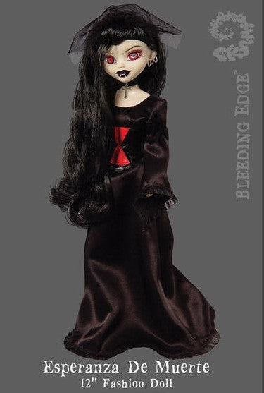 Esperanza De Muerte BeGoth Gothic Doll by Bleeding Edge
