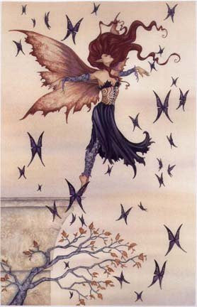 Amy Brown Euphoria Fairy Print -- Limited Edition 11 x 17