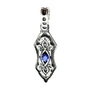 Nordic Lights Eye of the Ice Dragon Pendant Necklace