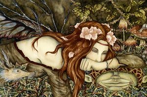 Amy Brown Signed Faery Goblin Print 11 x 17