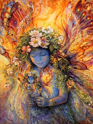 Josephine Wall Fairies Fairy Birthday Greeting Card