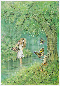 Corrina Rockley Fairy Glade Greeting Card