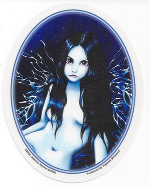Jasmine Becket Griffith Fairy by Moonlight Sticker