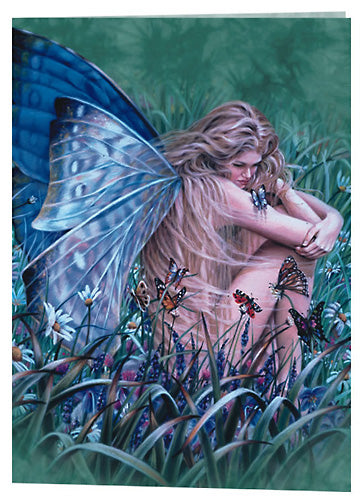 Sheila Wolk Field of Dreams Fairy Greeting Card