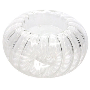Floating Glass Tea Light Candle Holder