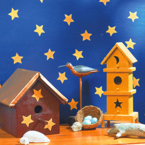 Wallies Folk Art Star Wallpaper Cutouts
