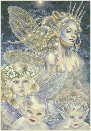 Maxine Gadd Frost Fairy + Children Greeting Card