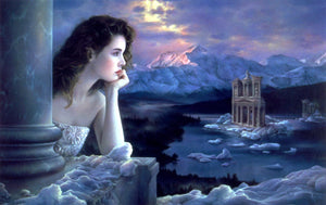 Jean Paul Avisse Frozen Love Greeting Card