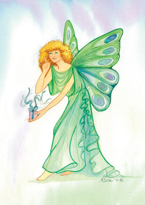 Karen Bagnard Gift Fairy Greeting Card