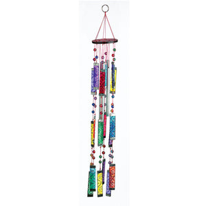 Glass Rainbow Windchime Suncatcher