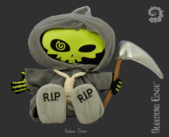 Bleeding Edge Kindersized Goth Grimm Jimm Plush Doll Series 3