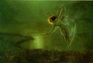 John Atkinson Grimshaw Illumination Fairy Art Card