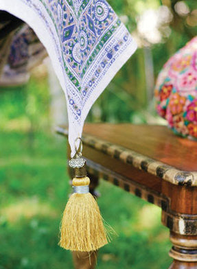Gypsy Tassel Key Chain