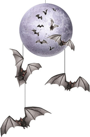 Bat Mobile Halloween Hanging Decoration