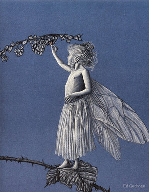 Ed Gedrose Heart Tree Fairy Greeting Card