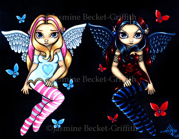 Jasmine Becket Griffith Hope and Despair Print