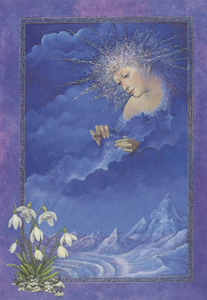 Linda Garland Ice Goddess Greeting Card