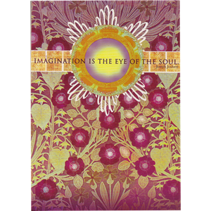 Imagination is the Eye of the Soul Greeting Card by Papaya