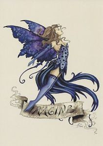 Amy Brown Imagine Fairy Postcard
