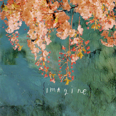 Sabrina Ward Harrison Imagine Note Card