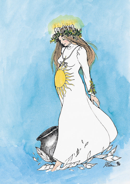 Karen Bagnard Imbolc Greeting Card