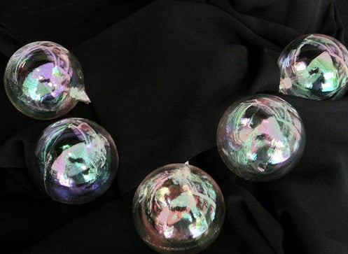 Iridescent Clear Balls String Lights