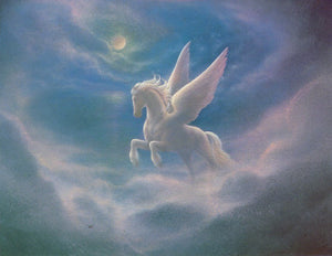 Jack Shalatain Celestial Guardian Pegasus Art Card