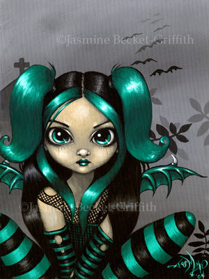 Jasmine Becket Griffith Gothling 5 Fairy Print
