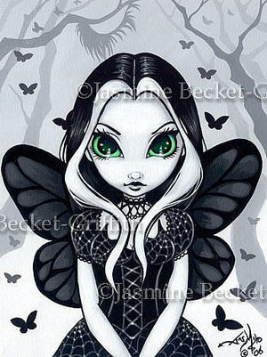 Jasmine Becket Griffith Green Eyed Magic Fairy Print