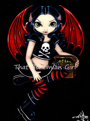 Jasmine Becket Griffith Pirate Fairy Print