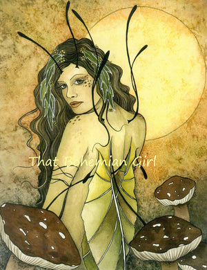 Jessica Galbreth Summer Fae Signed Print -- Early Works