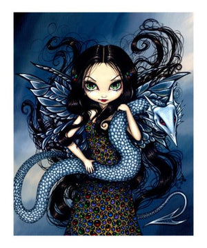 Jasmine Becket Griffith Jewele Cross Stitch Pattern Chart