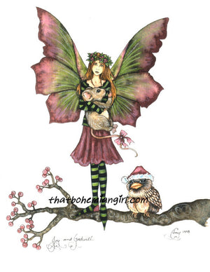 Amy Brown Joy & Goodwill Fairy Print