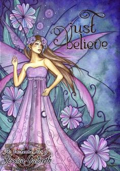 Jessica Galbreth Just Believe Ceramic Tile Art