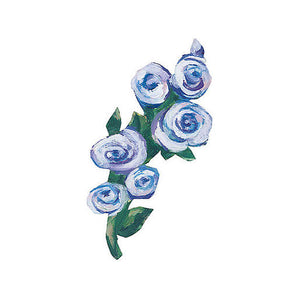 Wallies Kates Blue Roses Wallpaper Cutouts