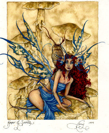 Amy Brown Keeper of Secrets Fairy Print