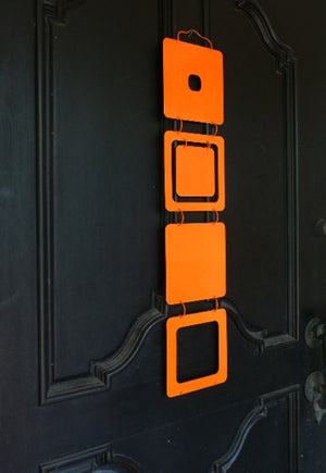 9 Kenneth Wingard Mobileo Orange Metal Linking Panels