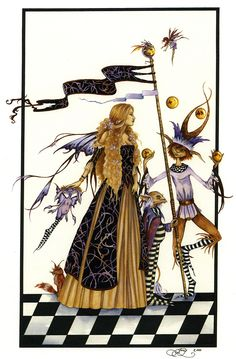 Amy Brown Lady of The Court Fairy Print -- Limited Edition 11 x 17